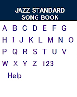 Screenshot of Jazz Song Book