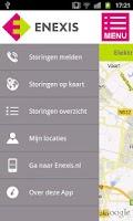 Screenshot of Enexis