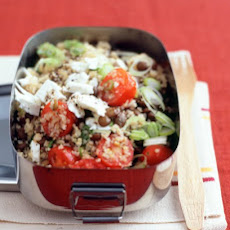 Lentil and Bulgur Salad