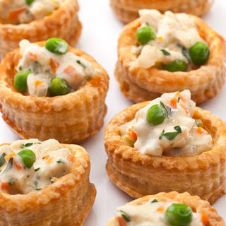 Chicken Pot Pie Bites