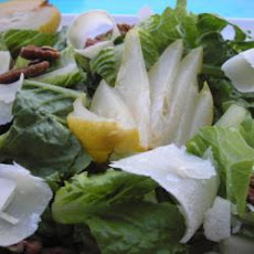 Pear and Pecorino salad