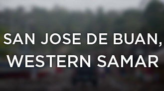 San Jose de Buan, Western Samar