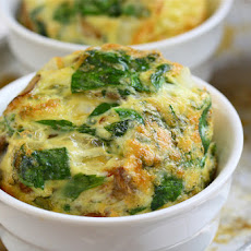 Spinach and Sun-Dried Tomato Frittata