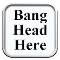 Bang Head Here icon