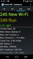 Screenshot of Wigle Wifi Wardriving