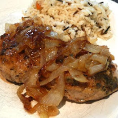 Pork Chops with Thyme Sauce