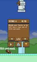 Screenshot of Flappy Turd