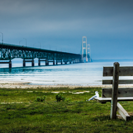 Mackinac by Tariq Aldighaither - Landscapes Beaches ( mackinac, michigan, blue )