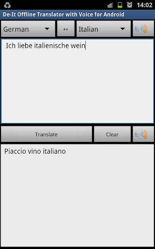 De-It Free Offline Translate