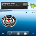Chinggis Khan Clock Widget icon