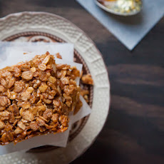 Double Ginger Almond British Flapjack