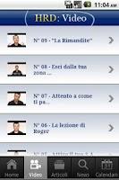 Screenshot of Personal Leadership Roberto Re
