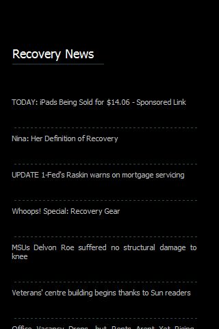 Recovery News
