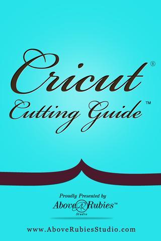Cricut Cutting Guide