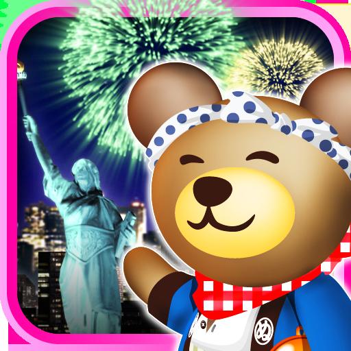 クマの花火パズル![登録不要の打上花火&パズルゲーム!]