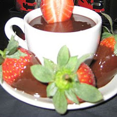 Chocolate Dipped Vodka Strawberries