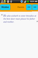 Screenshot of Muhammad (SAW) Sayings