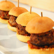 Spicy Pork Meatball Sliders