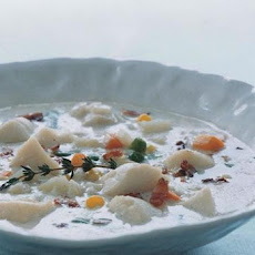 Scallop and Bacon Chowder