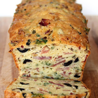 Olive, Bacon and Cheese Bread