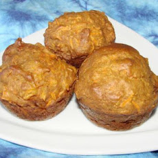 Extremely Easy Carrot Muffins