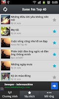 Screenshot of Xone FM Top 40 Cực Hay