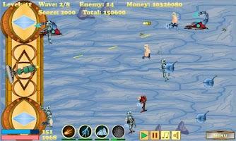 Screenshot of Cyborg Defense