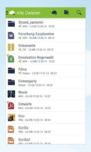 mobilcom-debitel cloud Screenshot