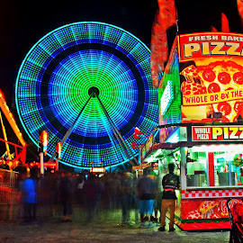Fair Night by Urban Xploration - City,  Street & Park  Amusement Parks