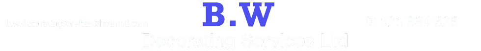 B.W Decorating Services Ltd