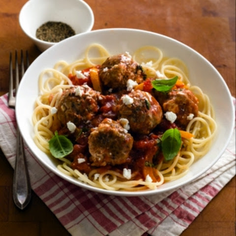 LAMB AND MILD FETA MEATBALLS
