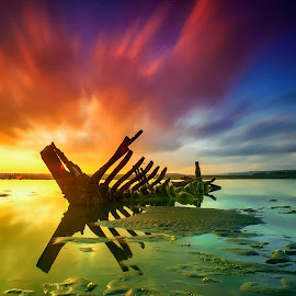 Just Bone by Bayu Adnyana - Landscapes Sunsets & Sunrises ( bali, tuban, balilandscaper, landscape photography, sunrise, landscape, landscapes )