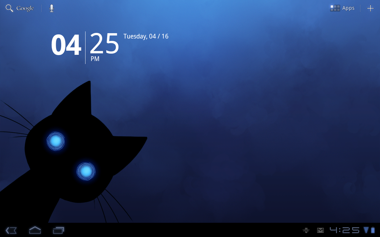 Stalker Cat Live Wallpaper Lt Screenshot 4