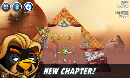 Angry Birds Star Wars II Free Screenshot