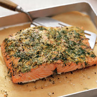 Mustard-Crusted Salmon