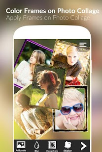Color Frames on Photo Collage - screenshot