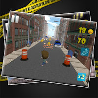 Screenshot of Urban Endless Running Game 3D