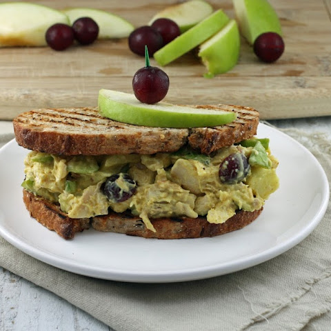 Curried Chicken Salad Skinnywich