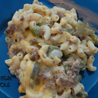 Cheesesteak Casserole