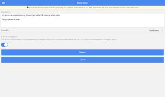 Screenshot of Arthur Online - Tenant App