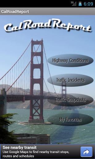 Cal Road Report Pro