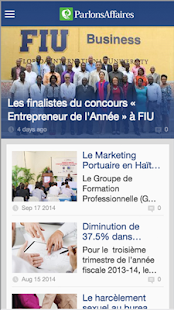 Parlons Affaires Mobile - screenshot