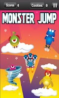 Screenshot of Monster Doodle Jump