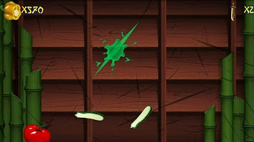 Screenshot of Veggie Blade - Ninja Slice