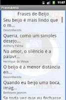 Screenshot of Frases & Mensagens Lindas