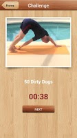 Screenshot of 500 Bodyweight Challenge