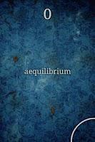 Screenshot of aequilibrium
