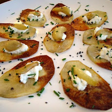 Crisp Garlic Potato Skins