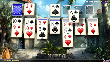 Screenshot of Hardwood Solitaire IV