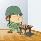 Checkers War: Chapayev Game